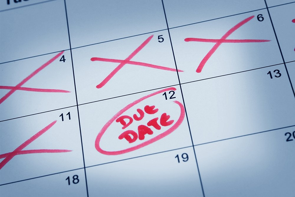 Why You Shouldn't Focus On Your Due Date | Parents throughout Make Your Own Baby Due Date Calendar