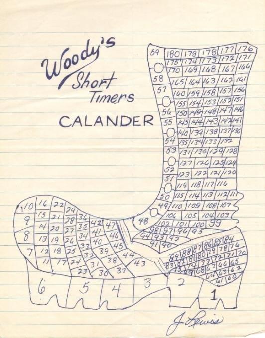 "Woodrow ""woody"" Trissel Page 9 regarding Short Timer Calendar"