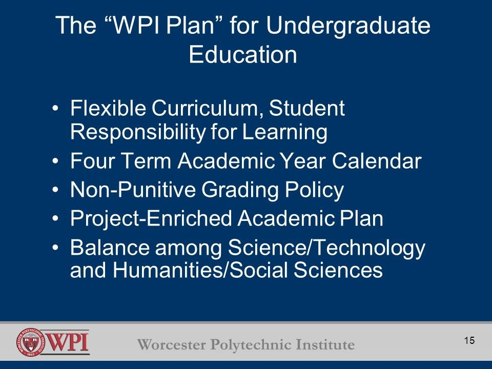 Worcester Polytechnic Institute Advisory Boards Overview with Wpi Academic Calendar