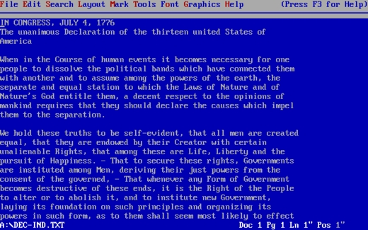 Wordperfect - Wikiwand throughout How To Make A Yearly Calendar In Wordperfect