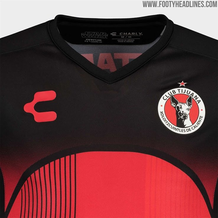 Xolos 19-20 Special 'star Wars' Kits Released - Footy Headlines inside Calendar Xolos Photo