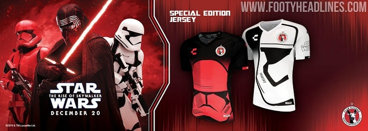 Xolos 19-20 Special 'star Wars' Kits Released - Footy Headlines throughout Calendar Xolos Photo