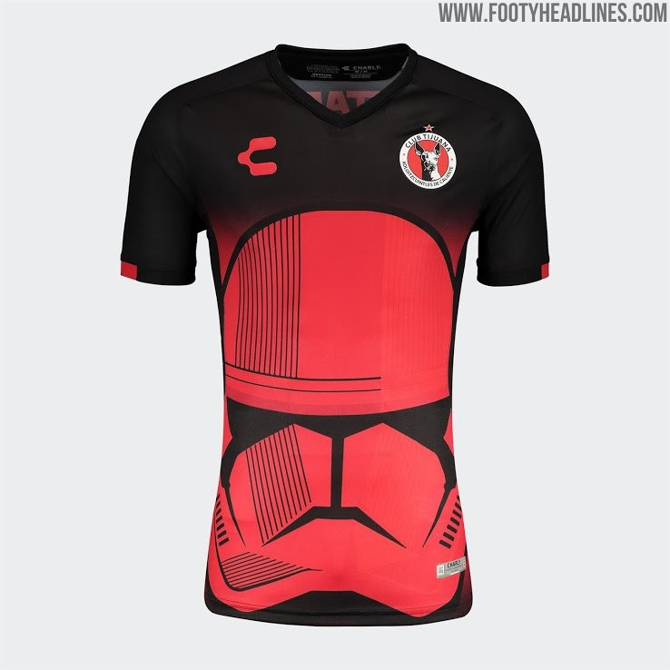 Xolos 19-20 Special 'star Wars' Kits Released - Footy Headlines with Calendar Xolos
