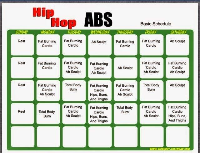 Hip Hop Abs Bit - Fasrsmash inside Hip Hop Abs Level 2 Calendar