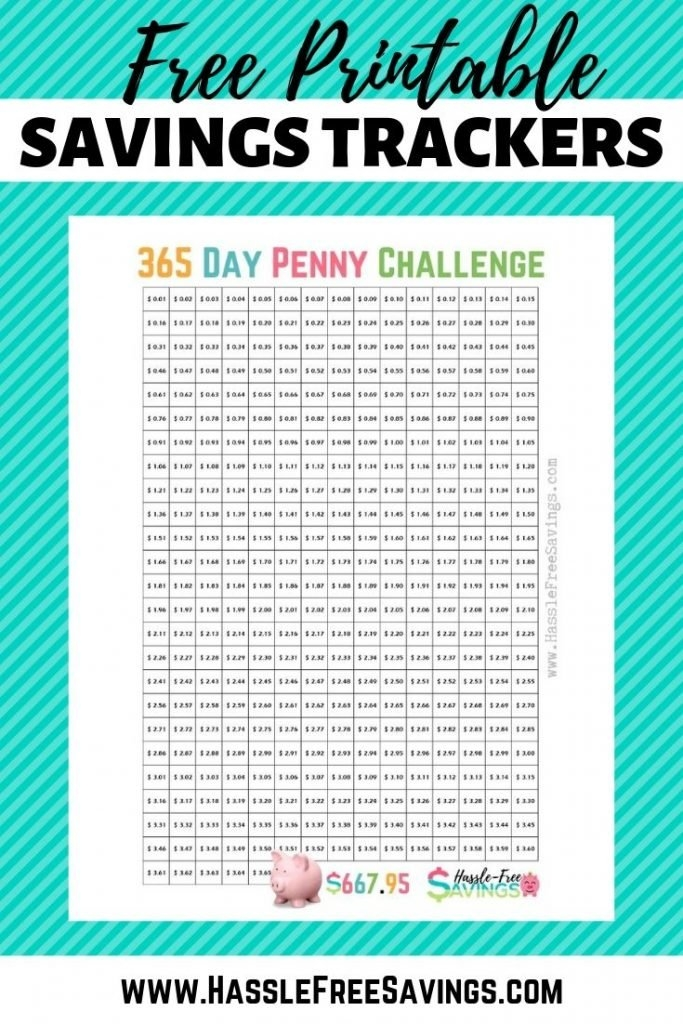 10 Penny Challenge Variations To Jump Start Your Savings with regard to Penny A Day Savings Calculator Image