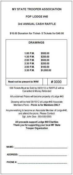 10+ Theraffleticketstore Ideas | Raffle Tickets, Raffle throughout Sample Monthly Calendar Lottery Ticket Fundraiser Image