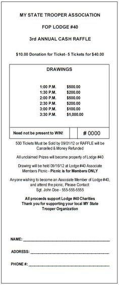 10+ Theraffleticketstore Ideas   Raffle Tickets, Raffle with regard to Monthly Lottery Ticket Fundraiser