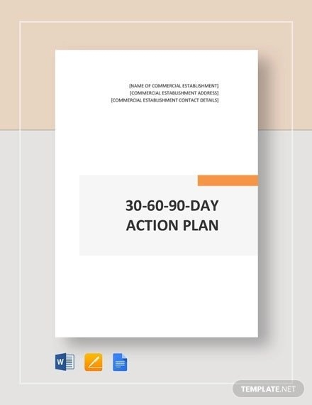15+ Free 30-60-90 Day Plan Templates - Word, Pdf, Apple inside 90 Day Project Calendar Printable Photo