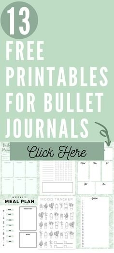 200+ Free Bullet Journal Printables Ideas In 2021 | Bullet intended for Fun Free Printable Shorttime Calendars Graphics