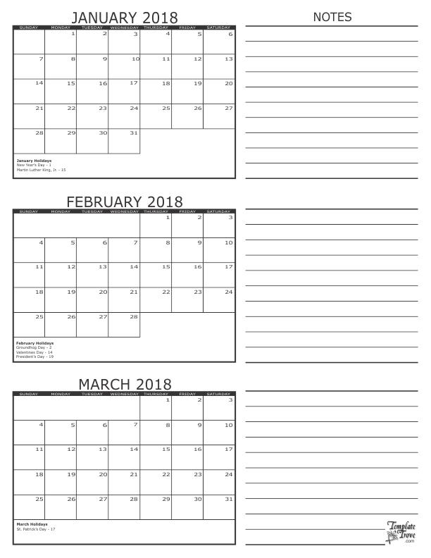 2018 - 3 Month Calendar | 3 Month Calendar, August Calendar throughout 3 Month Calendar