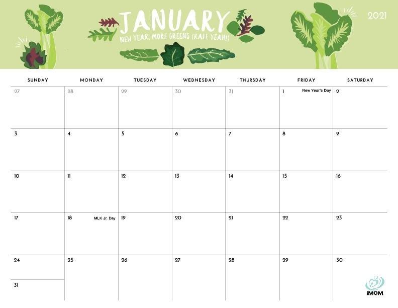 2020 And 2021 Printable Calendars: 10 Free Printable with regard to Imom Calendar