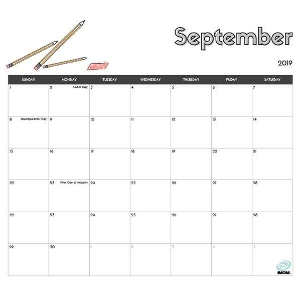2020 And 2021 Printable Calendars: 9 Free Printable Calendar within Imom Calendar