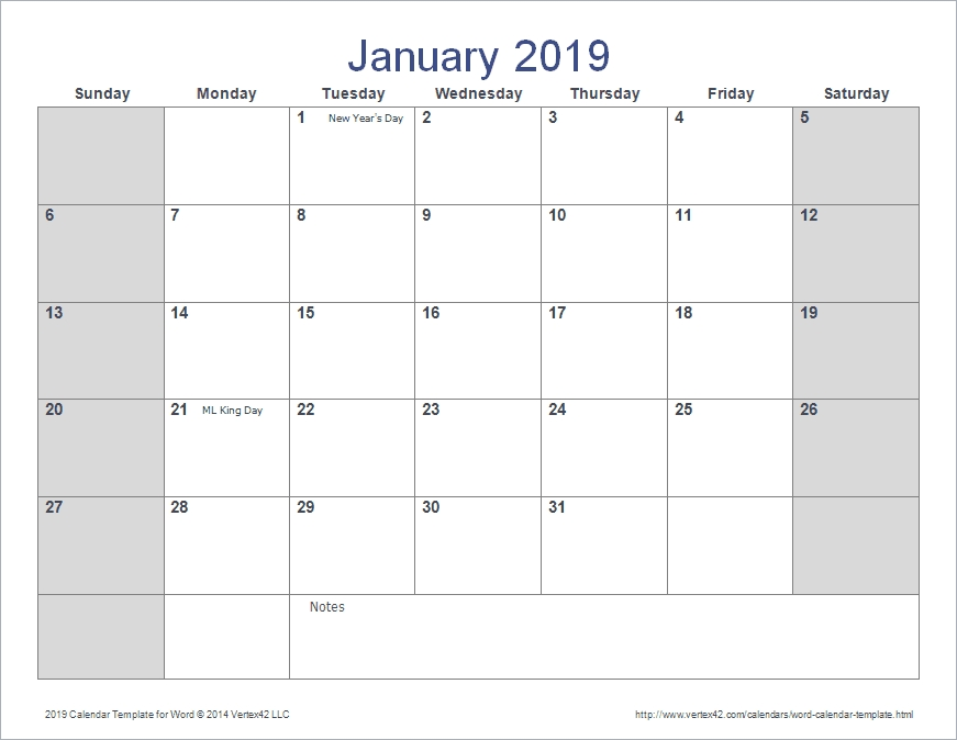 2020 Calendar Template Word inside 2020 Monthly Calendar Template Word Photo