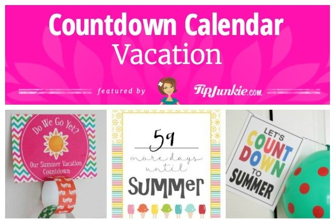 27 Fun Countdown Calendars To Anticipate Your Next Event for Vacation Countdown Calendar Printable Graphics