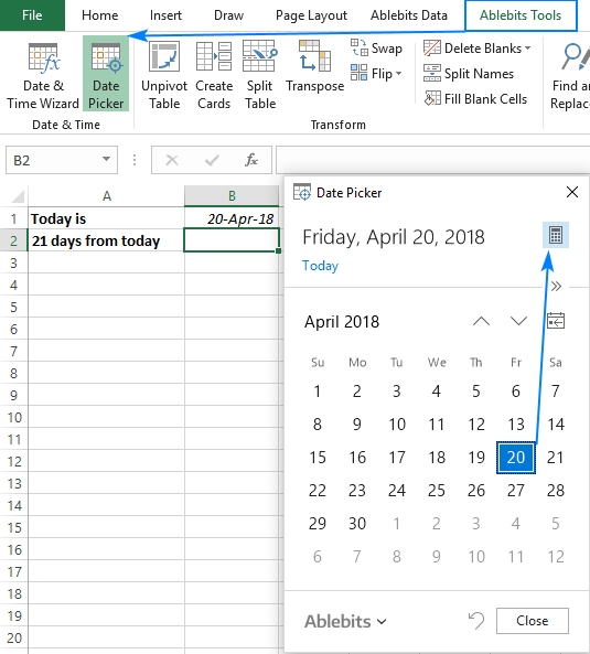 30/60/90 Days From Today Or Before Today - Date Calculator in 90 Day Calculator Chart Printable Graphics
