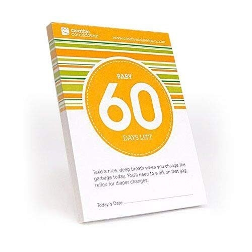 60-Day Countdown To Baby Tear-Off Calendar inside Tear Off Countdown Calendar