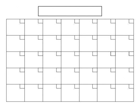 8.5 X 11 Calendars Printable | Printable Calendar Template pertaining to Blank Free Printable 8.5 X 11 Calendars Graphics