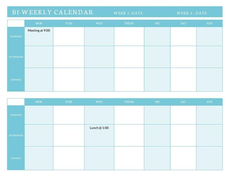800+ Free Printable Calendar Templates And Examples   Lucidpress intended for Bimonthly Calendar Free Print