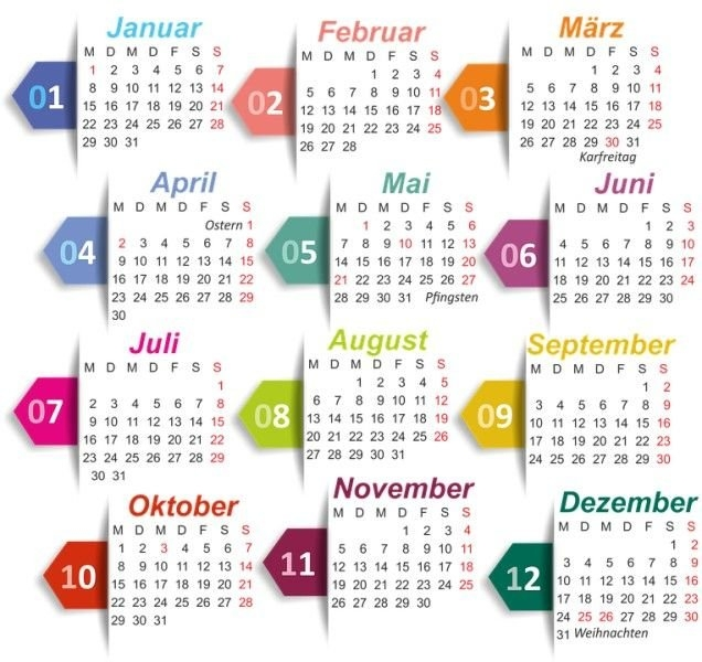 87+ Fascinating Printable Calendar Templates | Pouted for Calendar Numbering The Days 1 To 365