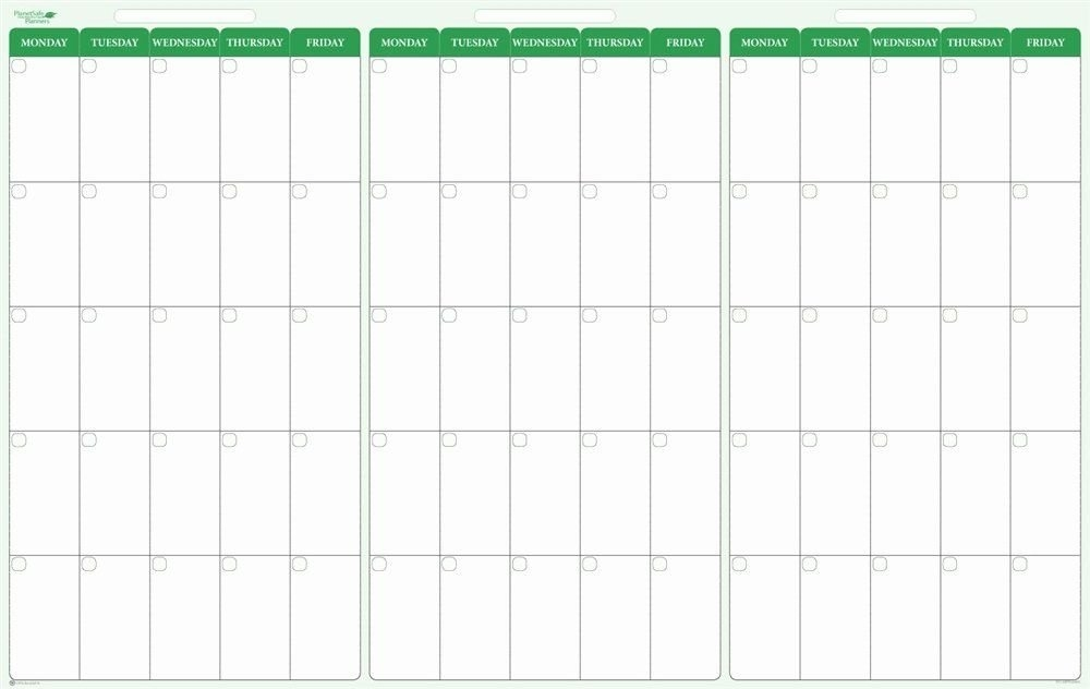 90 Day Planner Template Luxury 90 Day 3 Month Dry Erase for 90 Day Claendar Image