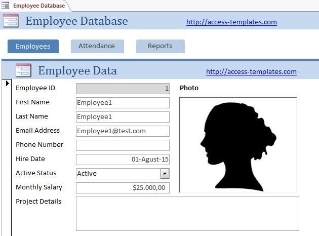 Access Database Templates For Employee Scheduling | Access within Scheduling Ms Access Databaase Image