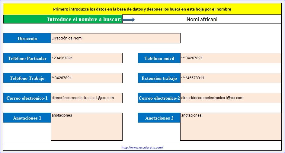 Agenda | Excel Gratis regarding Bajar Agenda Para Excel Image