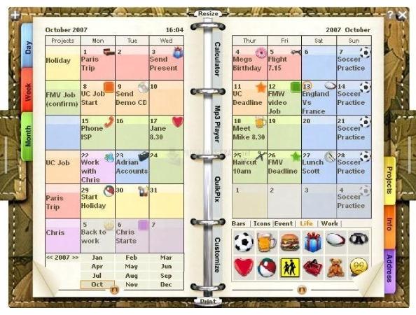 Agendas Gratis - Blog De Programas-Gratis pertaining to Agenda De Trabajo Gratis