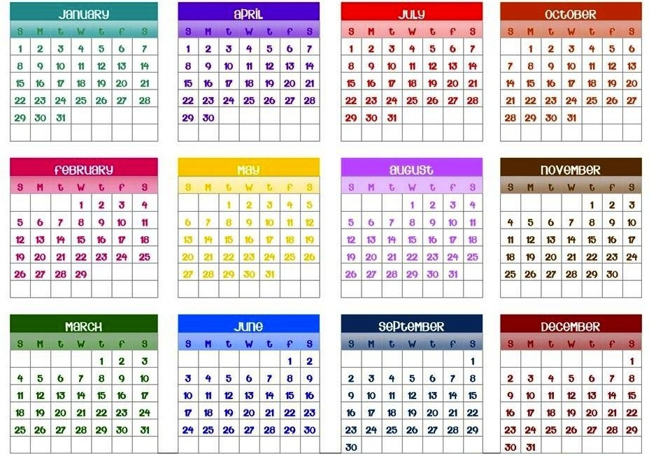 Ask Ethan #22: The No-Birthday Paradox | Scienceblogs pertaining to Calendar That Numbers To 365 Photo