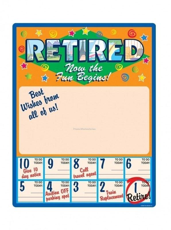 Awesome Printable Retirement Countdown Calendar | Free for Retirement Countdown Calendars Printable