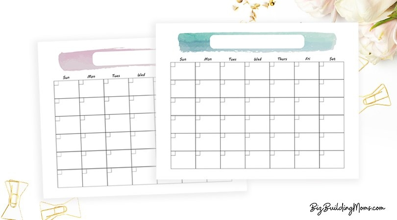 Blank Planning Calendar - Free Content Calendar Template To within Calendar Template