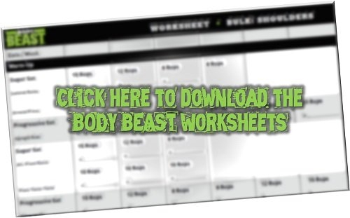 Body Beast Worksheets Pdf Download within Hip Hop Abs Schedule Printable