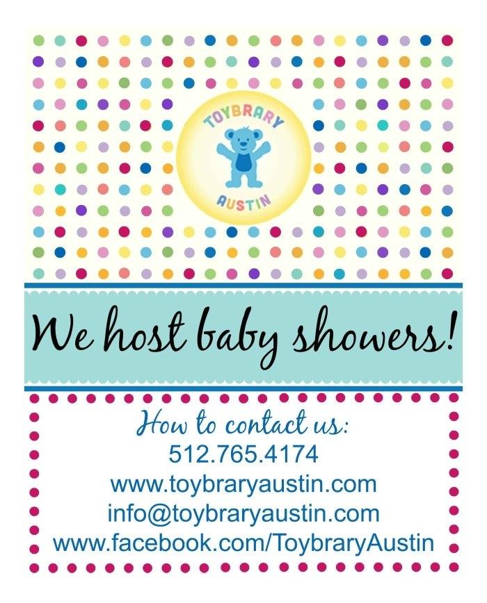 Boneau Baby Shower, 10:00-12:00 - Toybrary Austintoybrary Austin for Babyshower Calendar
