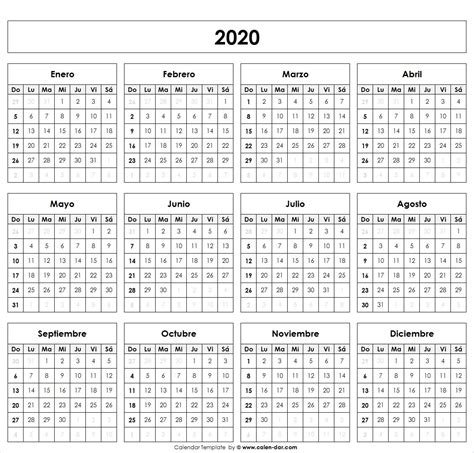 Calendario 2020 Para Imprimir A4 - Calendario 2019 inside Calendario  Anual Juliano 2020
