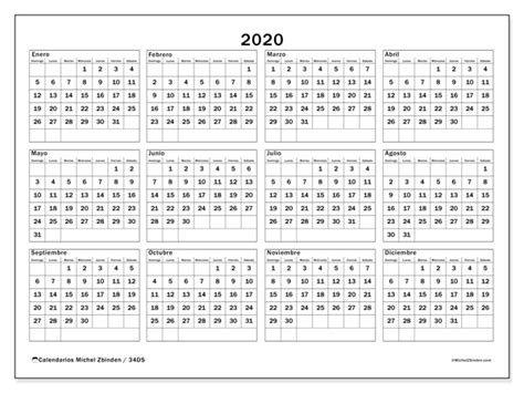Calendario 2020 Para Imprimir Por Dias - Calendario 2019 intended for Calendario 2020   Dias Julianos Image