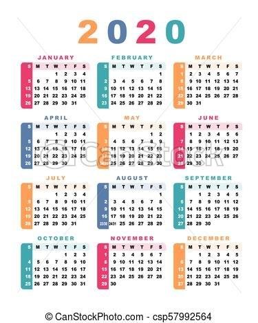 Calendario 2020 Week - Calendario 2019 with regard to Calendar 2020 Excel Con Numero De Semana