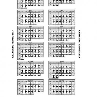 Calendario Juliano 2017 [D47Egjk302N2] throughout Calendario Juliano Pdf