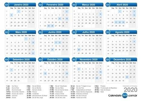 Calendario Juliano 2020 Para Imprimir - Calendario 2019 in Calendario 2020   Dias Julianos Image