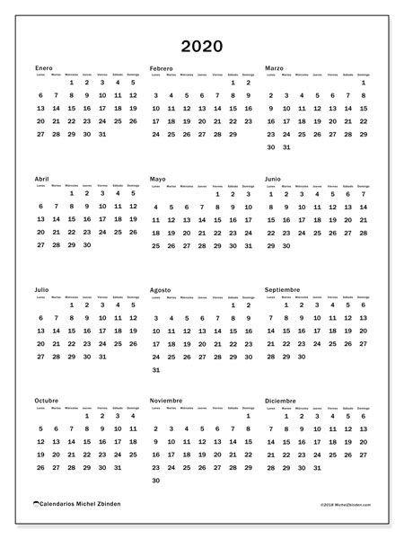 """Calendario""""33Ld"""" 2020 Para Imprimir   Calendario Para inside Calendario 2020   Dias Julianos"""