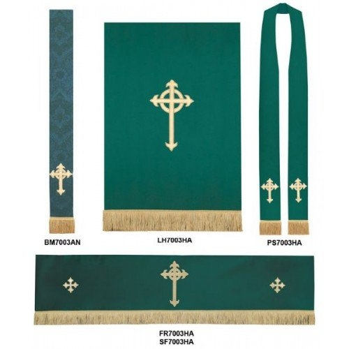 Church Sanctuary Altar Frontal - St. Andrew'S Book, Gift intended for Paraments For Sanctuary Schedule