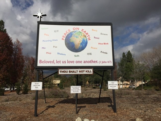 Claremont Church Opts Out Of Anti-Violence Nativity Scene within Dates To Change Banners Methodist Church Image