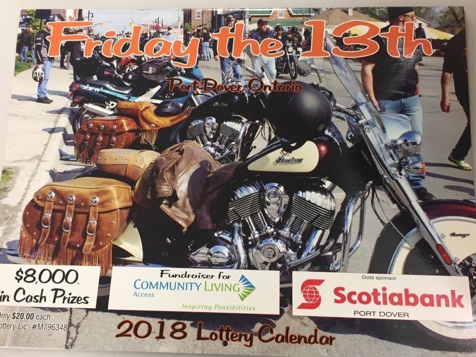 Community Living Access Lottery Calendars! | Norfolktoday.ca throughout Fundraiser Lottery Calendar