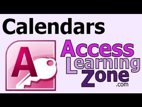 Create A Calendar In Microsoft Access for Microsoft Access Calendar