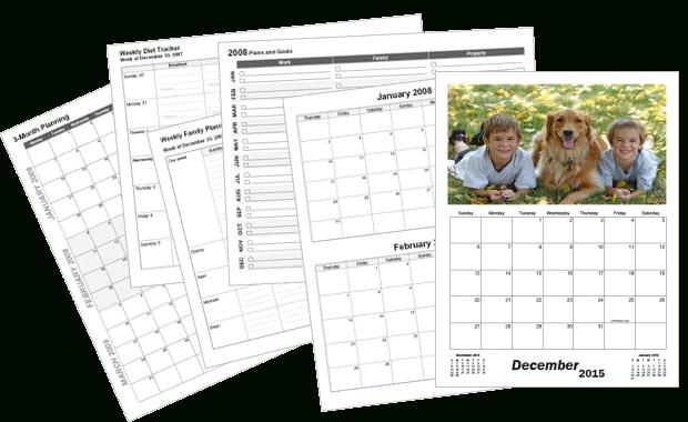 Create Custom Printable Calendars - Calendarsquick in Calendarsquick Image