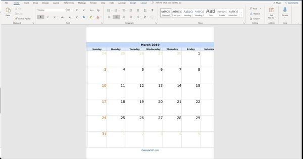 Create Your Free Wordperfect Calendar Templates In 2020 within Wordperfect Calender