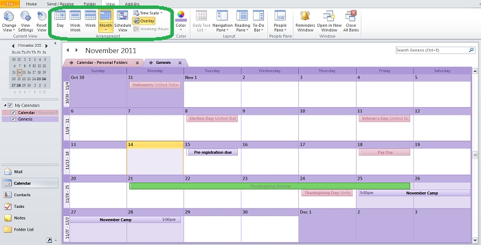 Customize Your Outlook Calendar So That It'S All About You pertaining to Outlook Print Annual Calendar