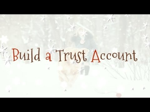 Day 1: Build A Trust Account throughout Incomptech.com/Calendar