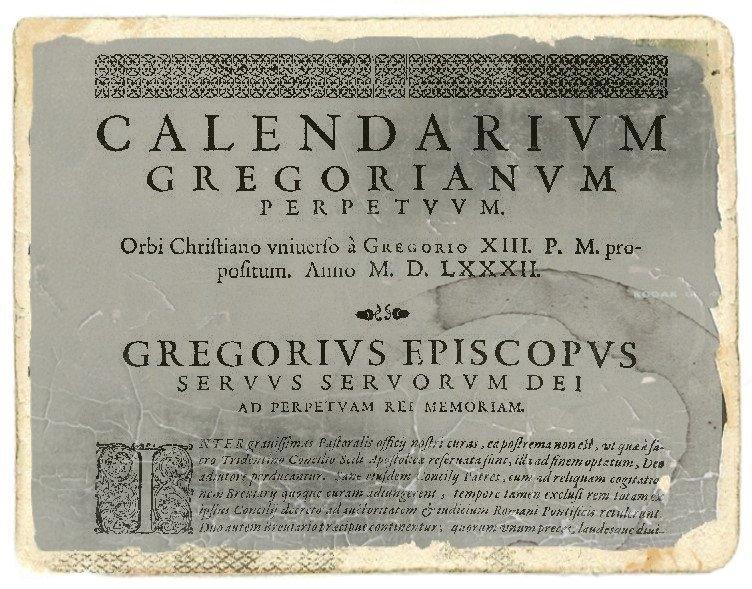 Differenze Tra Calendario Gregoriano E Calendario Giuliano for Calendario Giouliaon