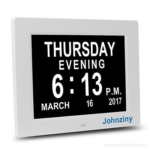 Digital Calendar Day Clock-Dementia Alzheimer Memory Loss in Alzheimer'S Calendar Clock Graphics