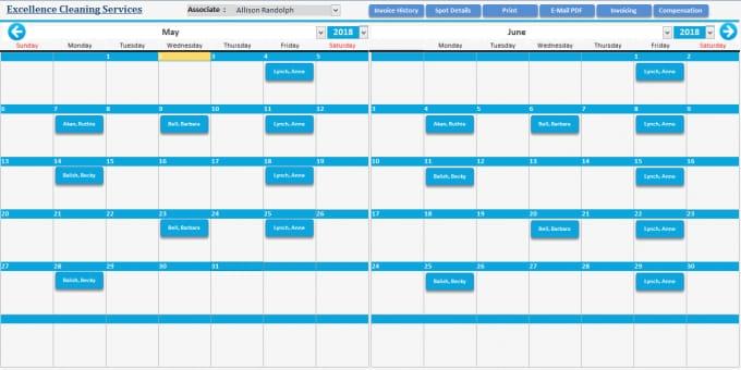 Do Calendar In Access And Vba regarding Microsoft Access Calendar Schedule
