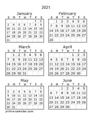 Download 2021 Printable Calendars regarding No Frills Honor Calendar